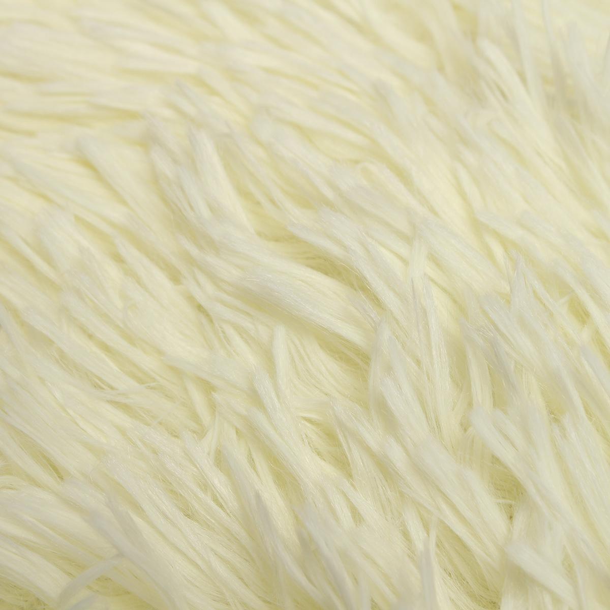 80x50cm Absrobent Shaggy Carpet Home Anti Slip Rug Bedroom Soft Mat
