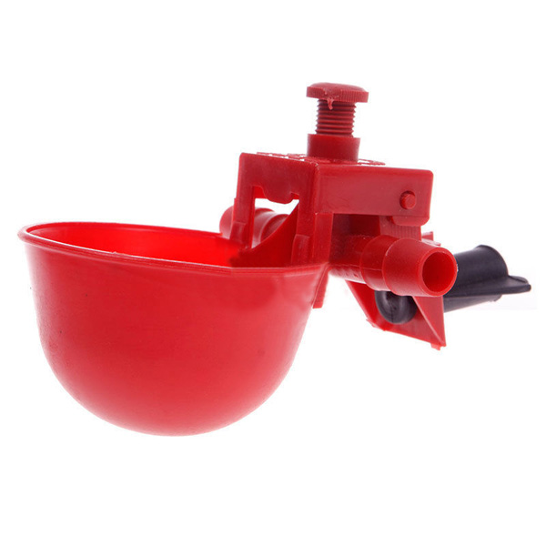 Automatic Feed Poultry Water Drinking Cup Chicken Drinker