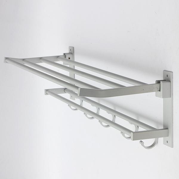 towel rack shelf