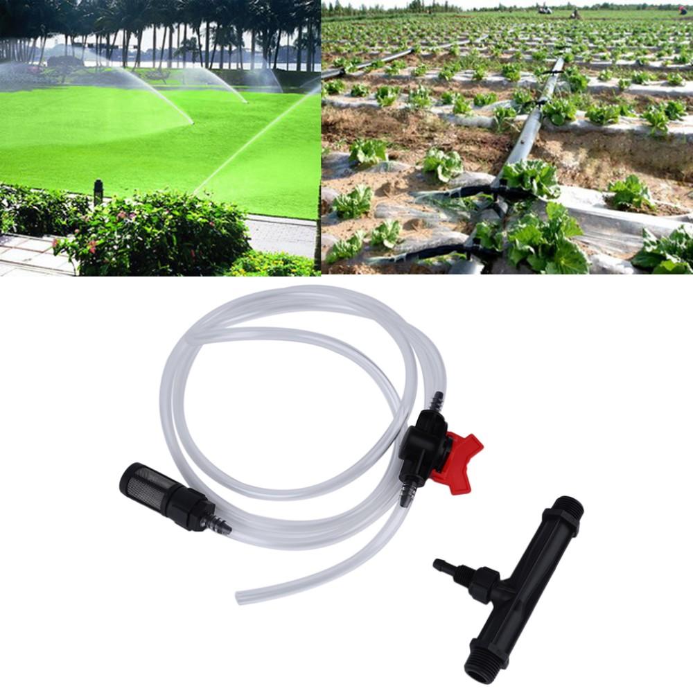 irrigation venturi fertilizer injector