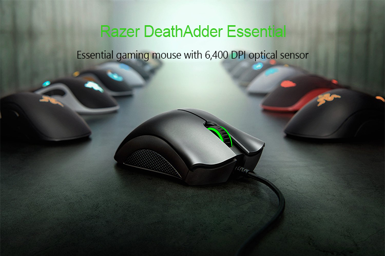Razer Mouse Essential Viper Mini Deathadder V2 Mini Lancehead Wired Gaming Mouse