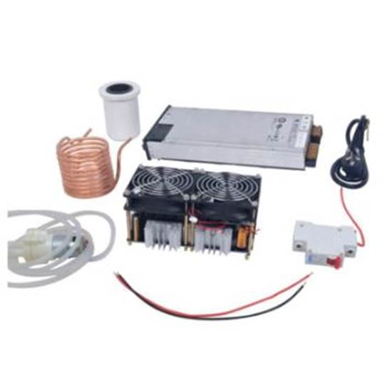 High frequency induction heating 2500W high power high frequency machine high frequency quenching intermediate frequency furnace without tap zvs